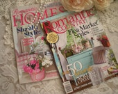WEEKEND SALE Take 50% Off...Romantic Chic Magazines... Collector Issues Set Of 2 From SincerelyRaven On Etsy