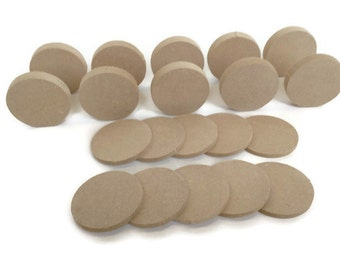 MDF Wooden Circle Shapes