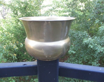 Vintage Solid Brass Planter Handmade in India