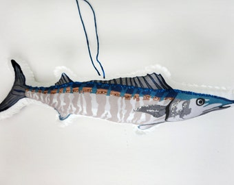 Wahoo Fish Ornament