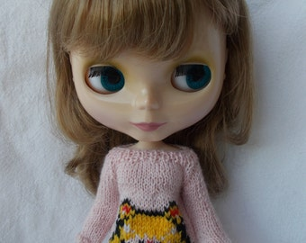 Sweater with Sailor Moon, available in different sizes and colors,pure neemo,blythe,pullip,yo-sd, littlefee,momoko, minifee...