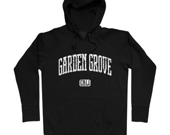 Garden Grove California Hoodie - Men S M L XL 2x 3x - Gift, Sweatshirt, Garden Grove Hoody, Big Strawberry, Orange County, CA  - 4 Colors
