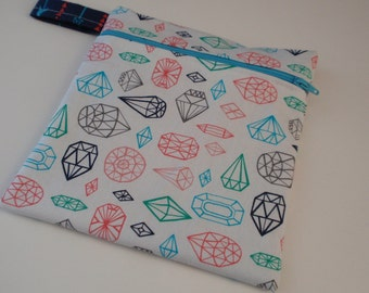 New Hot Print Wet bag: Gem Cut Trends