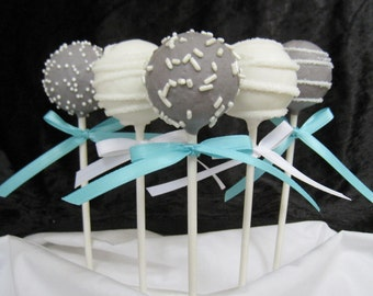 Cake Pops: Wedding Cake Pops Made to Order with High Quality Ingredients