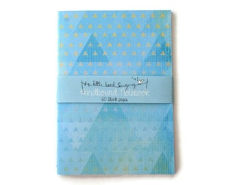 Geometric Travelers Notebook - Journal - Notebook - Exercise Book  - 60 Pages