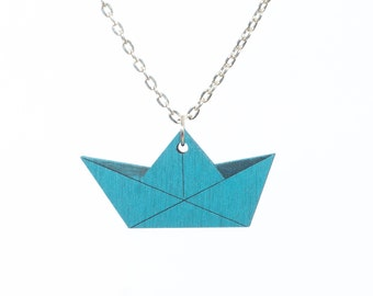 nice paper boat chain