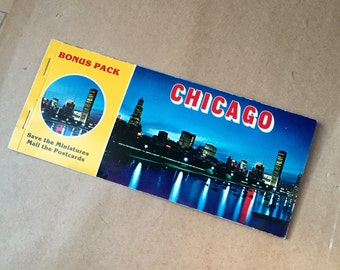 Vintage Pack of CHICAGO Post Cards - 8 cards