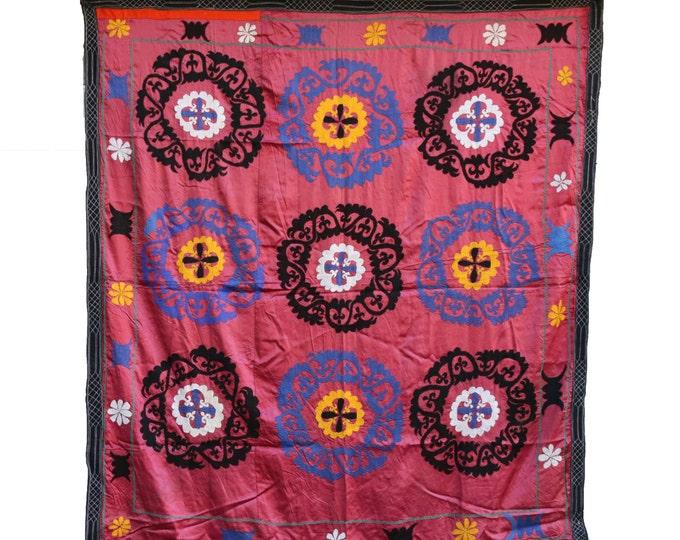 Handmade Vintage Suzani NL3046