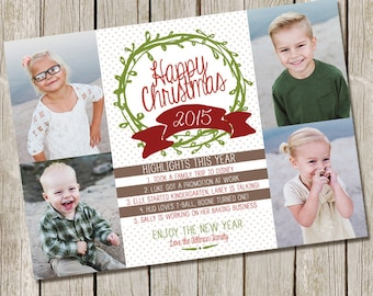 Christmas Card - Hightlights from the year/4 photos