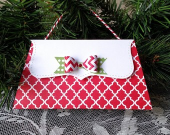 Christmas  gift card holder/  purse Gift Card and Money Holder