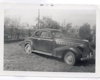 Vintage Photo Fifteen Dollar Buick 1955 Automobile Photograph Classic Car Antique Auto Memorabilia