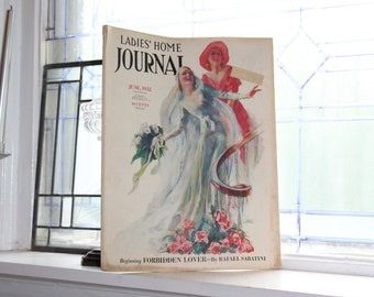 1932 Ladies' Home Journal Magazine June Issue with Great Coca Cola Ad Vintage Fashion
