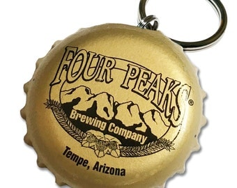 Beer Bottle Cap ID Tag - Four Peaks Brewing