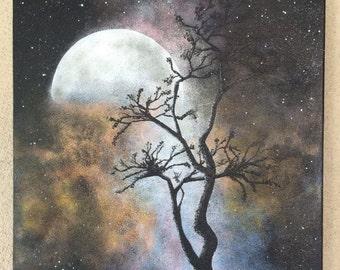 Each Coming Night - original painting