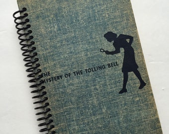 NANCY DREW MYSTERIES Book Journal Recycled Spiral Bound The Mystery of the Tolling Bell