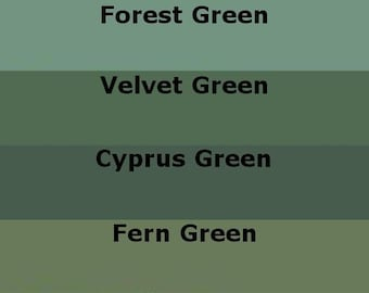 Mosaic Grout Green Variety Pack SANDED Four Colors