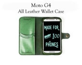Moto G4 Leather Wallet Ca...