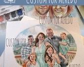 Custom Portraits for Alfredo