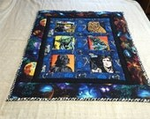 Star Wars Characters Baby Quilt, Wall Art, Lap Blanket