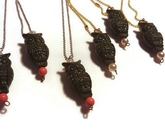 Hootywhoo - Owl Necklace in 2 Colors