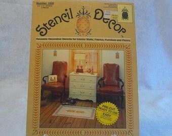 Vintage Stencil Decor Reusable Decorative Pineapple Stencils