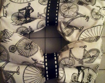D.I.Y penny farthing bicycle hair bow