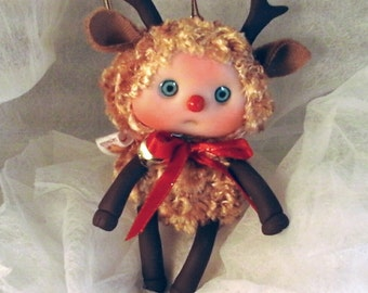 Reindeer,  Baby Reindeer,  Cute Baby Doll, Decoration for home, for Christmas, Collectables