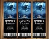 Jurassic World Invitation ticket, Jurrasic Party Invitation, Jurassuc World Party Birthday / Baby Shower / Bridal Shower / Printable, Custom
