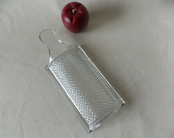 Vintage Glass French Grater- Hard to Find
