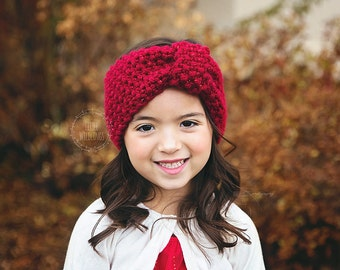 Shimmer Pebble knit headwrap for Toddler and Girls Choose from 10 colors