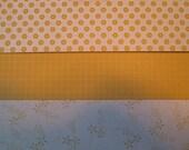 SO SAFFRON Paper Patterns - Designer Series Paper - Stampin Up Retired