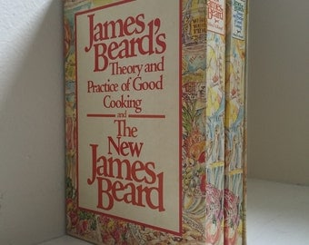 James Beard's Theory and Practice of Good Cooking and The New James Beard Rare Two Volume Box Set