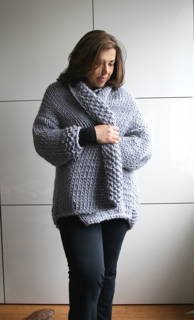 Crochet Oversized Sweater
