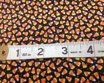 Adorable Candy Corn Fabric From Jo-Ann's Cotton