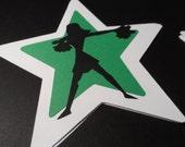 Special today ! Cheerleader silhouette ~ die- cut ~ decorations ~scrapbooking