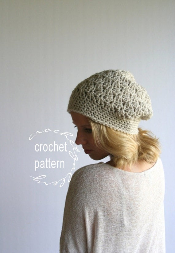 CROCHET PATTERN Beanie Pattern for HDC Textured by ...