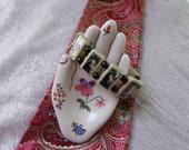 Ares Mars Wooden Devotional Bracelet. Pagan Devotional Jewerly.