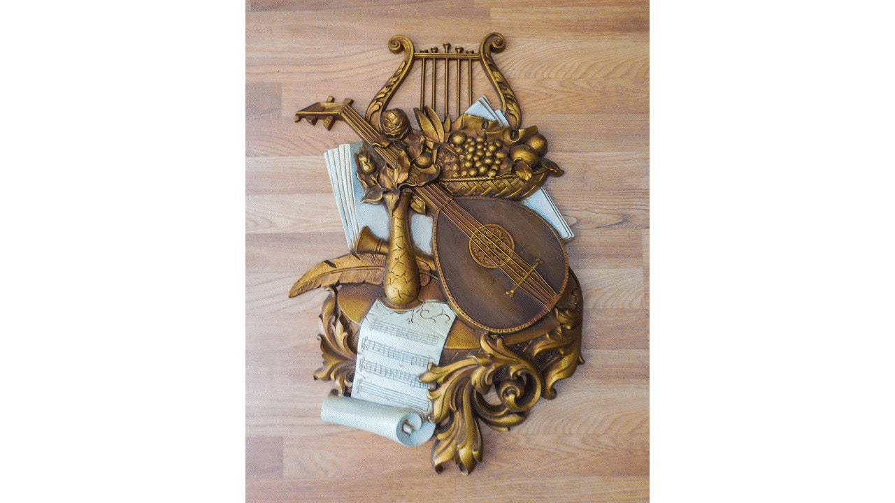 Music Themed Syroco That 39 S Amore Italian Wall Hanging