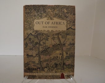 First Edition, Out Of Africa, American Edition, Isak Dinesen, Baroness Karen von Blixen-Finecke, Random House, Literary Gift, Circa 1938