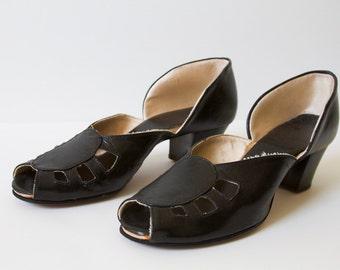 Vintage Black Shoe size 7