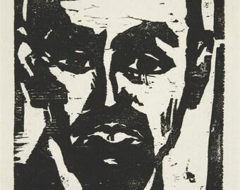 20th Century Expressionism: The Doctor (Der Arzt), 1911 - Emil Nolde Print Reproduction. Fine Art Print.