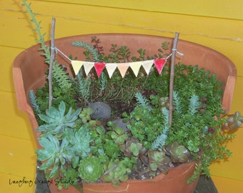 Fairy Garden Pennant