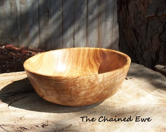 Hand Turned Ash Bowl