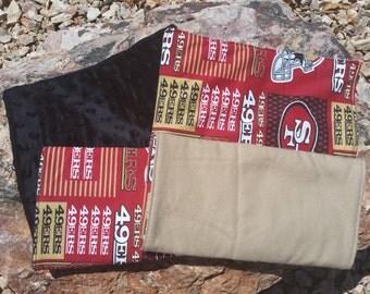 San Francisco 49ers Burp Cloths