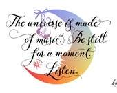 The universe is made of music...