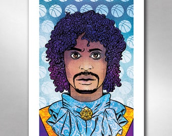 PRINCE CHAPPELLE Pancakes Pop Music Tribute Art Print 11x17 by Rob Ozborne