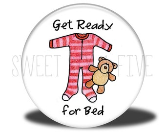 Get Ready for Bed - Chore Magnet
