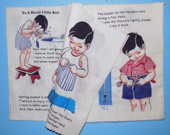 1950s Cloth Activity Book