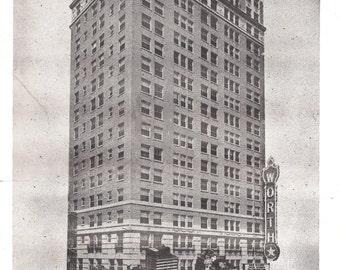Vintage Postcard....The Worth Hotel, Fort Worth, Texas...Used...no.3583