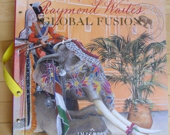 Designer Wallpaper Sample Book - Raymond Waites, Global Fusion, Imperial Wallpaper, Wall Quilt Paper, Scrapbooking, Art Projects, Decoupage